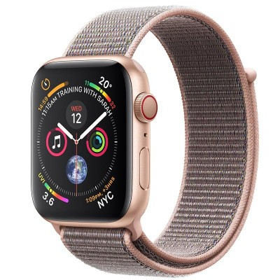 Apple Watch Series 4 Cellular Gold Aluminium (40mm) with Pink Sand Sport Loop