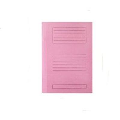 Premium Ντοσιέ Μανίλα Δίφυλλο (ροζ)