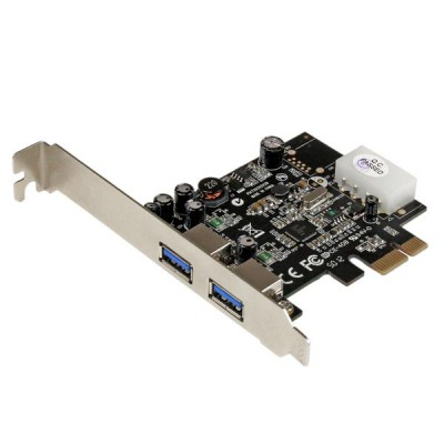 StarTech 2 Port PCI Express (PCIe) SuperSpeed USB 3.0 Card