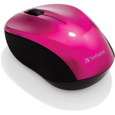 Verbatim GO-Nano Hot Pink Wireless Mouse