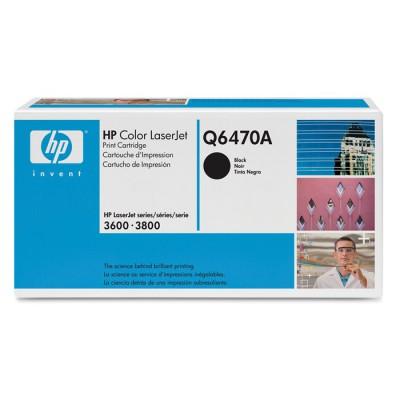 HP 501A Black Toner (Q6470A)
