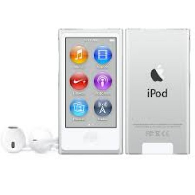 Apple iPod Nano 16GB 7th Generation 2015 Silver