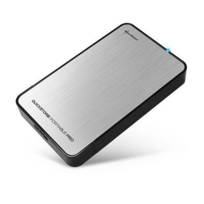 Sharkoon QuickStore Portable Pro USB3.0 Silver
