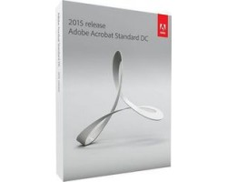 Adobe Acrobat Standard DC 2015 1 License Eng