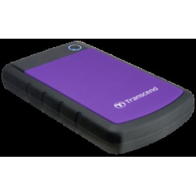 Transcend StoreJet 25H3P 1TB Purple/Black