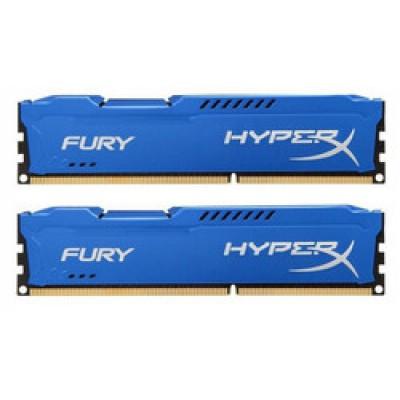 Kingston HyperX Fury Blue 8GB DDR3-1333MHz (HX313C9FK2/8)