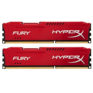Kingston HyperX Fury Red 8GB DDR3-1333MHz (HX313C9FRK2/8)