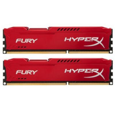 Kingston HyperX Fury Red 8GB DDR3-1600MHz (HX316C10FRK2/8)