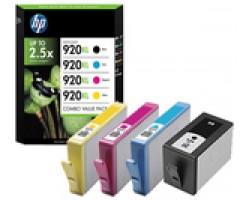 HP 920XL Cyan/Magenta/Yellow/Black (C2N92AE)