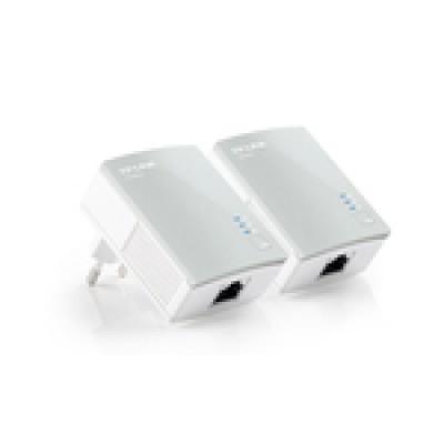 TP-LINK TL-PA4010KIT AV500 Nano Powerline Adapter Starter Kit V2