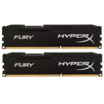 Kingston HyperX Fury Black 16GB DDR3-1600MHz (HX316C10FBK2/16)