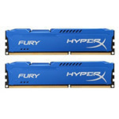 Kingston HyperX Fury Blue 8GB DDR3-1600MHz (HX316C10FK2/8)