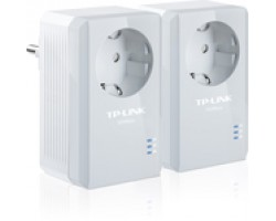 TP-LINK TL-PA4010PKIT AV500 Powerline Adapter with AC Pass Through Starter Kit v3