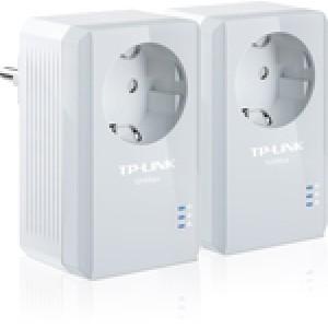 TP-LINK TL-PA4010PKIT AV500 Powerline Adapter with AC Pass Through Starter Kit v3