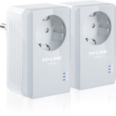 TP-LINK TL-PA4010PKIT AV500 Powerline Adapter with AC Pass Through Starter Kit v2