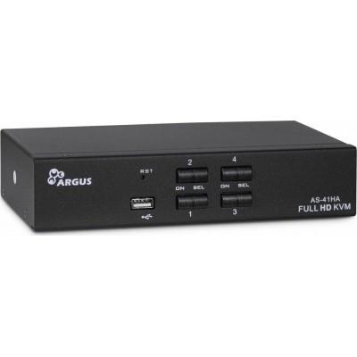 Inter-Tech KVM AS-41HA HDMI