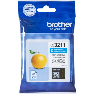 Brother LC-3211 Cyan (LC-3211C)