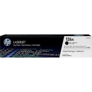 HP 126A Black Toner 2-pack (CE310AD)
