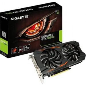 Gigabyte GeForce GTX1050 Ti 4GB Windforce OC (GV-N105TWF2OC-4GD)