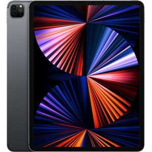 """Apple iPad Pro 2021 12.9"""" με WiFi+5G και Μνήμη 2TB Space Grey"""