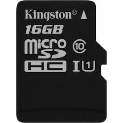Kingston Canvas Select microSDHC 16GB U1