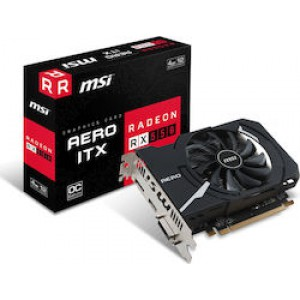 MSI Radeon RX 550 4GB (Aero ITX 4G OC)
