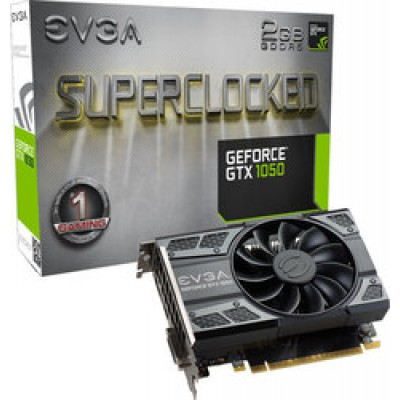 EVGA GeForce GTX1050 2GB SC Gaming (02G-P4-6152-KR)