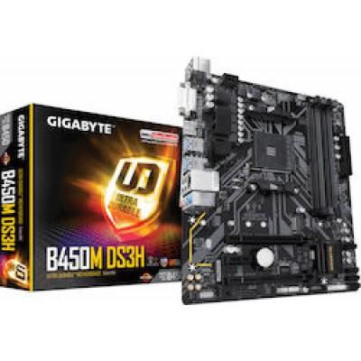 Gigabyte B450M DS3H (rev. 1.0)