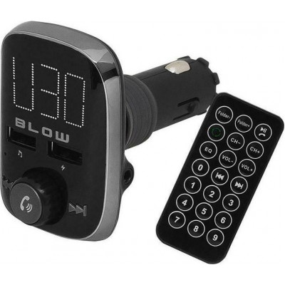 Blow FM Transmitter με Bluetooth/USB (74-147#)