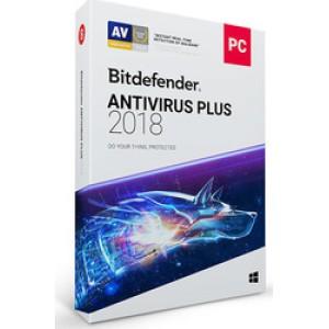 BitDefender Antivirus Plus 2018 (1 Licence , 1 Year)