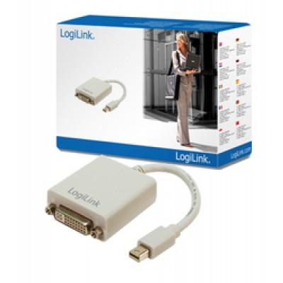 LogiLink mini DisplayPort male - DVI-I female (CV0037)