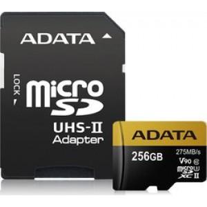 Adata Premier One microSDXC 256GB V90 with Adapter