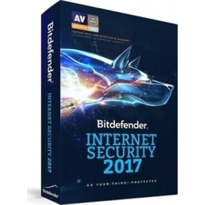 BitDefender Internet Security 2017 (1 Licence , 1 Year)