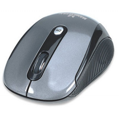 Manhattan Performance Wireless Optical Mouse Black/Silver