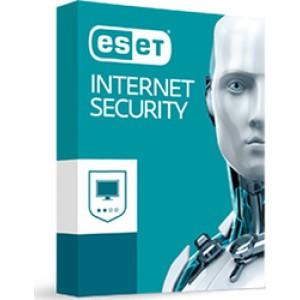 Eset Internet Security 2017 (Version 10) (3 Licences , 1 Year)
