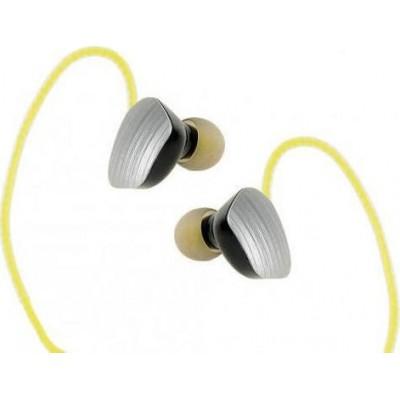 iBox X1 In-ear Bluetooth Handsfree Κίτρινο