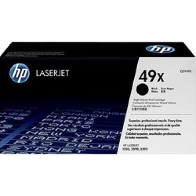 HP 49X Black Toner High Yield (Q5949X)