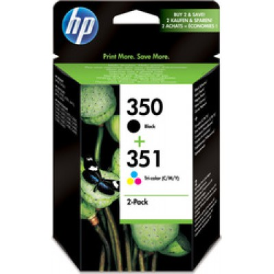 HP 350/351 Black/Tri-Colour (SD412EE)