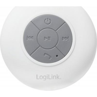 LogiLink Shower Speaker White