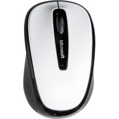 Microsoft Wireless Mobile Mouse 3500 High Polish White