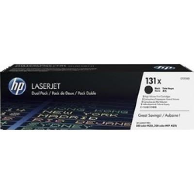 HP 131X Black High Yield 2-pack (CF210XD)