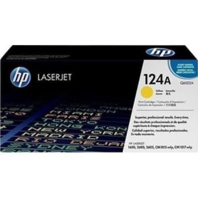 HP 124A Yellow LaserJet Toner (Q6002A)