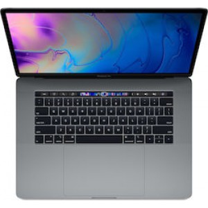 "Apple MacBook Pro 15.4"" (i7-8750H/16GB/256GB SSD/Radeon Pro 555X) with Touch Bar (2018) Space Grey Greek"