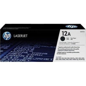 HP 12A Black Toner (Q2612A)