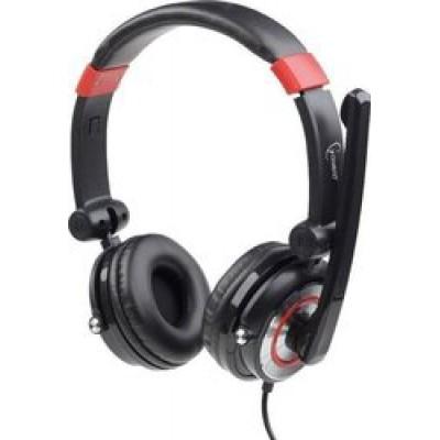 Gembird MHS-5.1-001 Black/Red