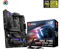 MSI Socket Mpg Z490 Gaming Carbon WiFi
