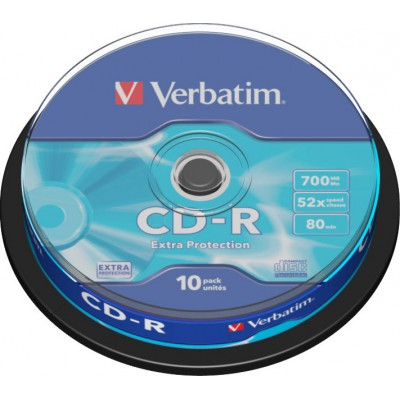 Verbatim CD-R 700MB 10 pieces (43437)