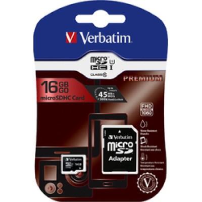 Verbatim Premium microSDHC 16GB U1