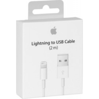 Apple USB to Lightning Cable White 2m (MD819)