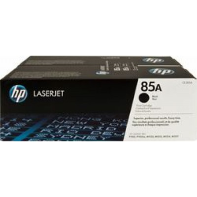HP 85A Black 2-pack Toner (CE285AD)